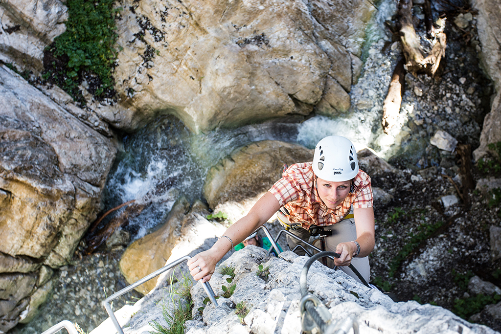 Montafon Vorarlberg Rongg Waserfall
