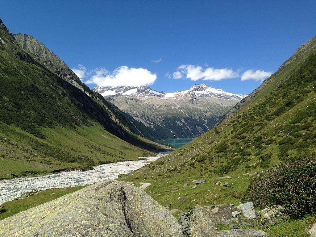 Schlegeis in den Zillertaler Alpen